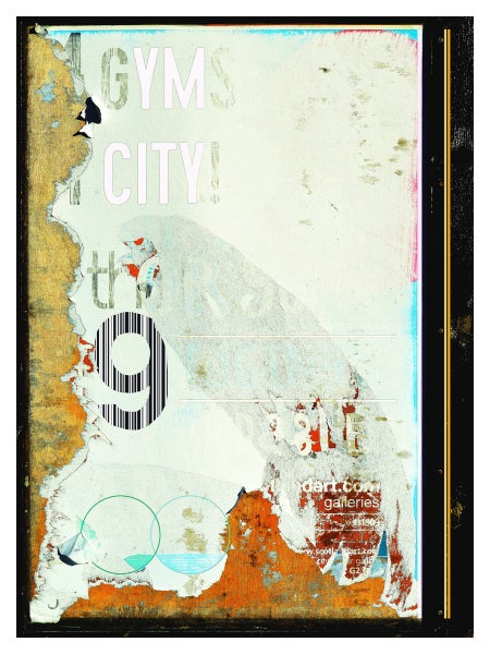 Image of Urban Scrawls Abstract Art - My City