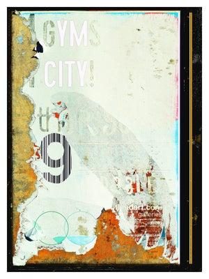 Image of Urban Scrawls Abstract Art - My City