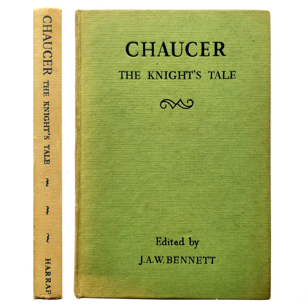 Chaucer - The Knight's Tale