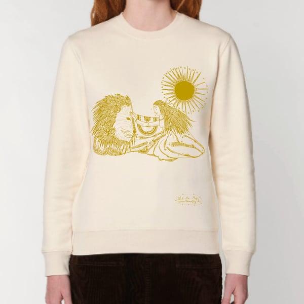 Image of Sweat-shirt  *Woman Lion*