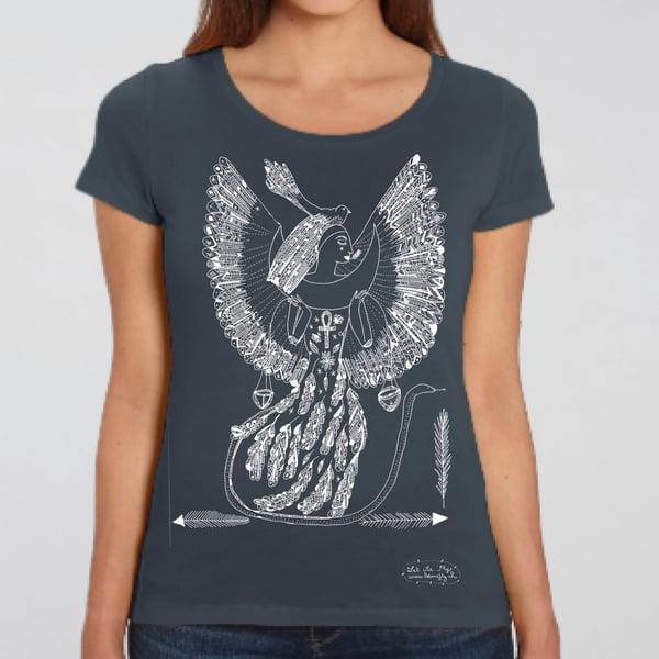 Image of T-shirt Femme Coton Bio *Goddess Isis*