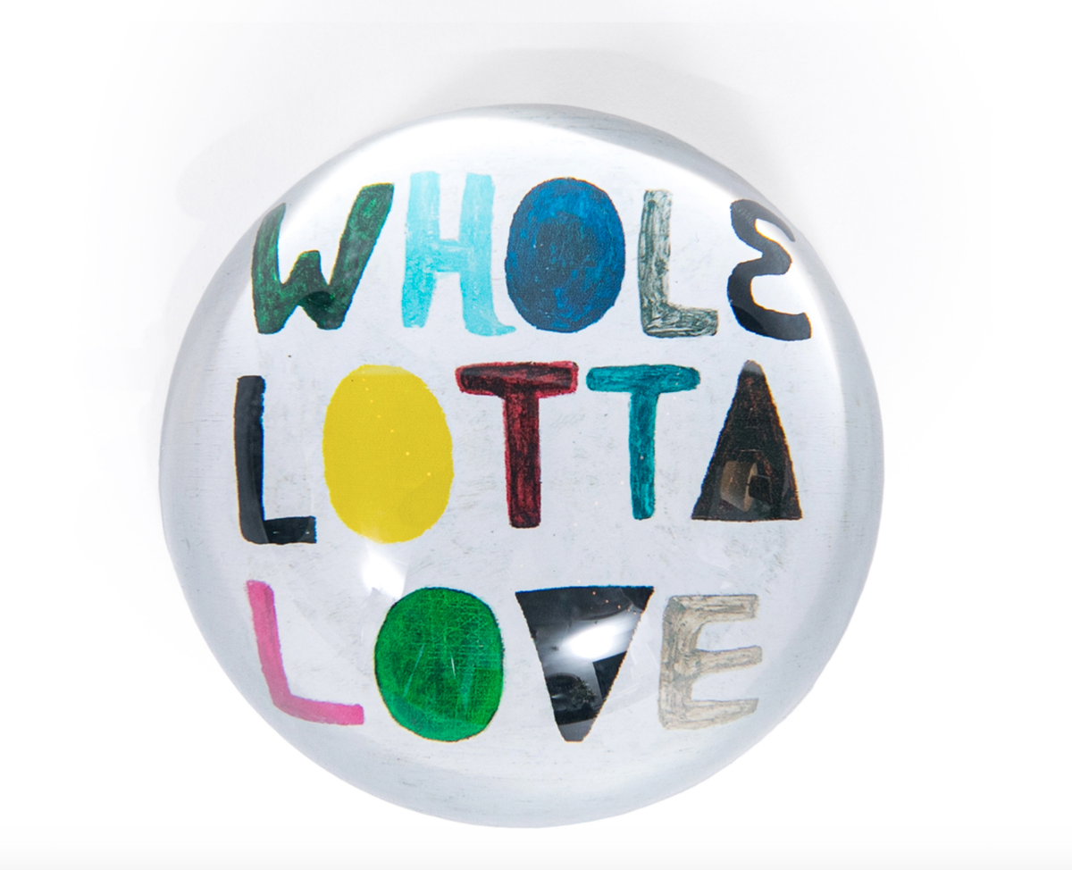Image of Love Paperweights (4 Choices)