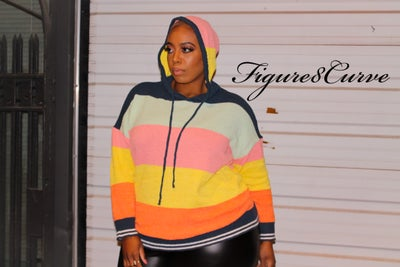 Image of Color Block Hoodie