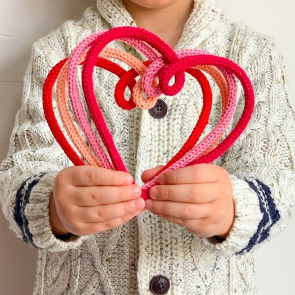 Image of Knitted Hearts