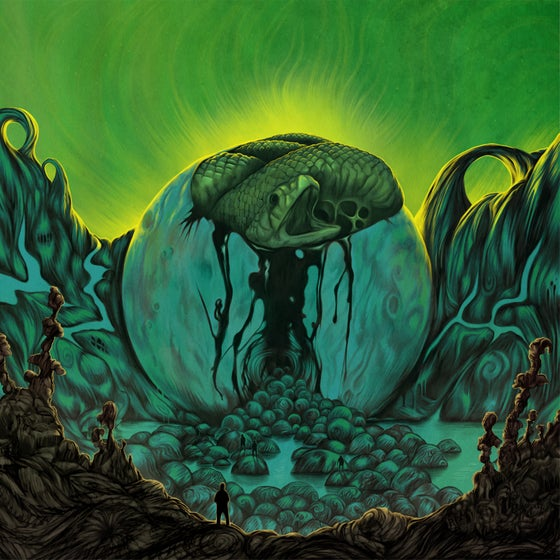 Image of The Outskirts Of Reality LP splatter