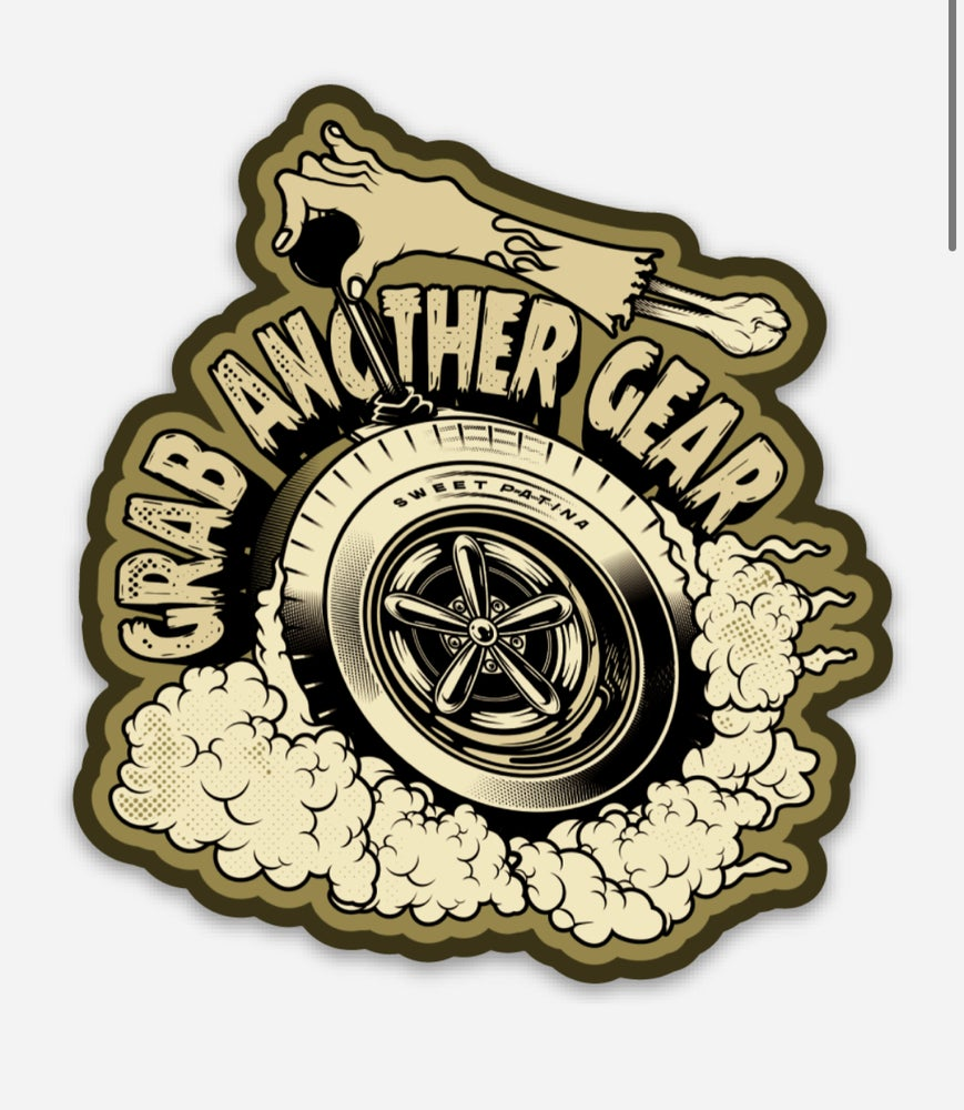 Image of Grab Another Gear Sticker