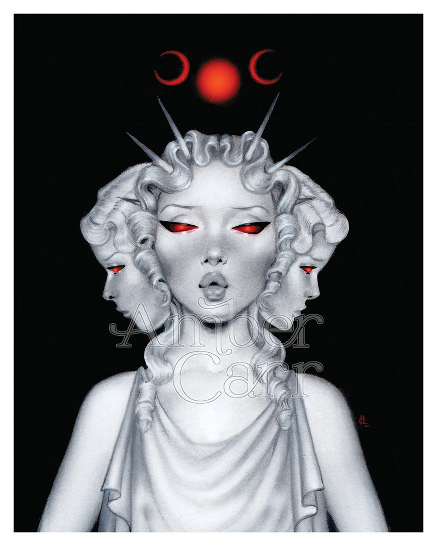 """Image of Hecate 8"""" x 10"""" Print"""