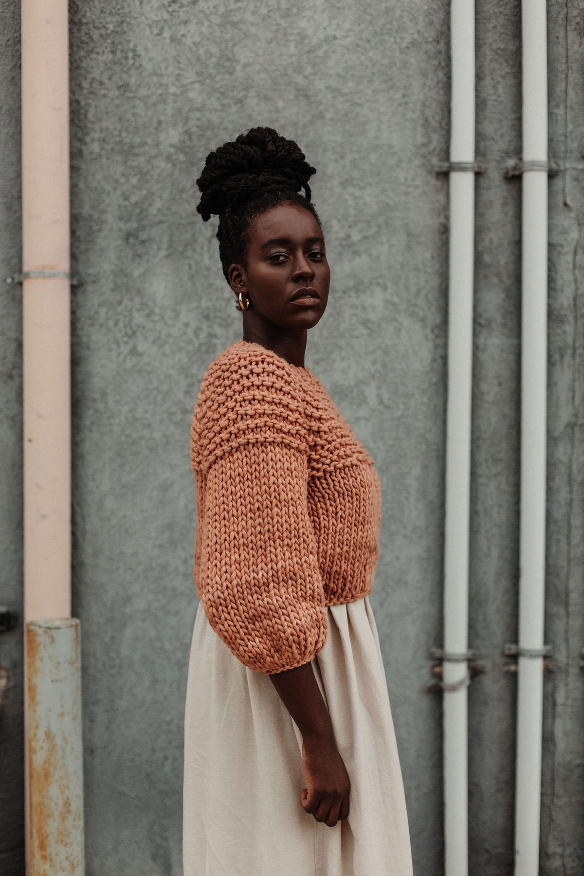 Image of Knitting Pattern - Trefann Sweater