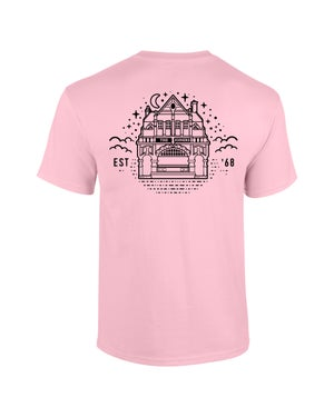 Image of The Joiners - Skully Tee - Pastel Pink