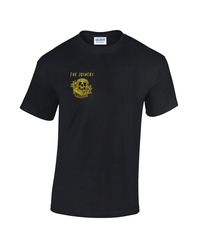 Image of The Joiners - Skull Tat Tee - Black