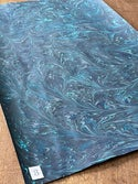 Shades Of Blue Collection Marbled Paper I 1/2 sheets