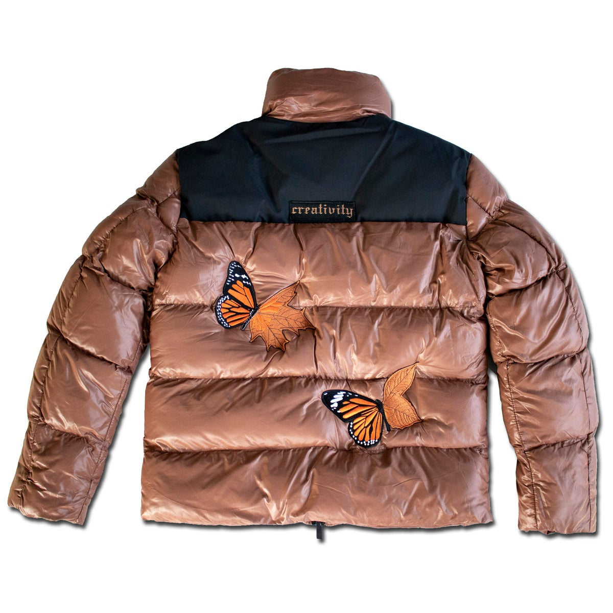 Image of BUTTERFLY PUFFY JACKET