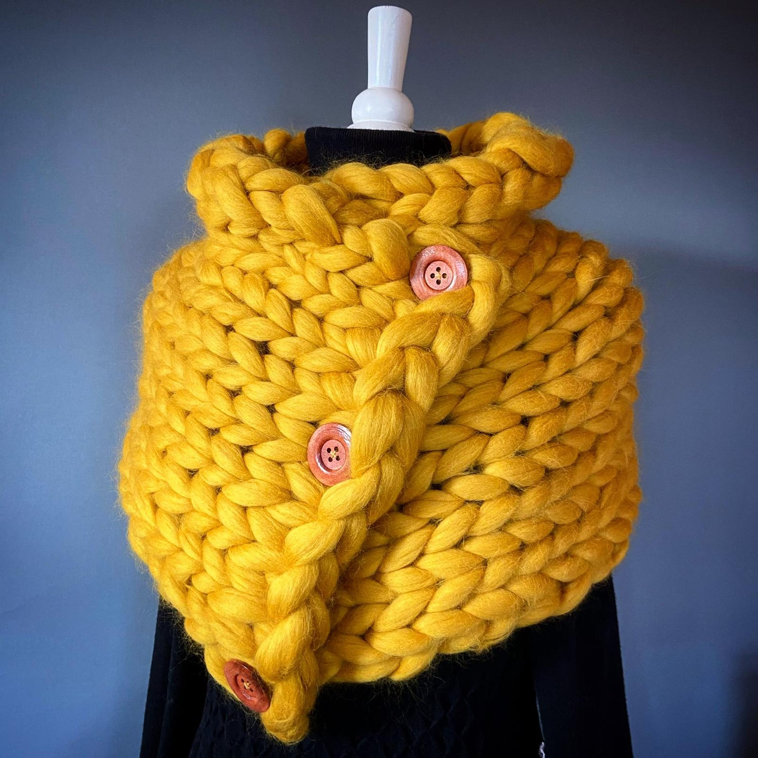 Image of Wrap with buttons