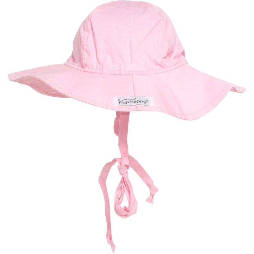 Image of Pink Flap Happy Hat