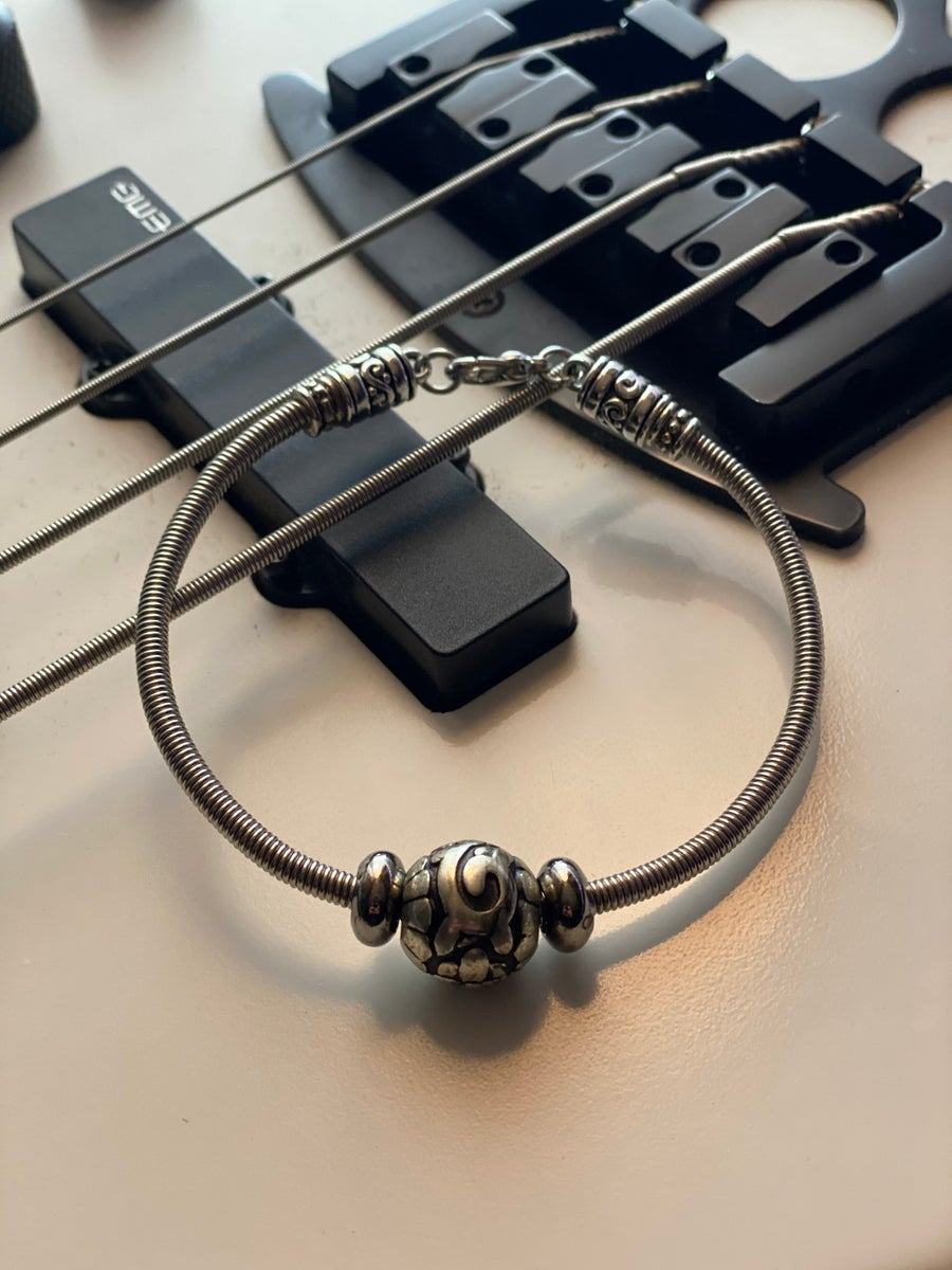 Image of Love Your Man B & E String Bracelet