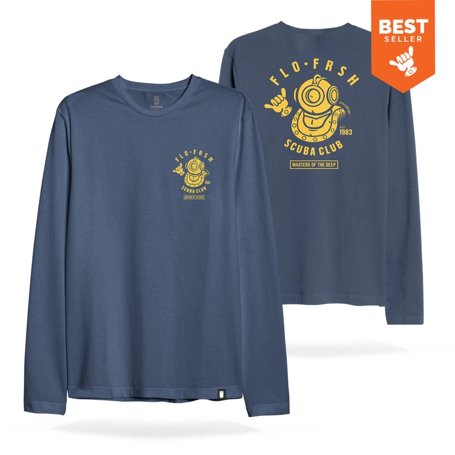 Image of Scuba Club 'Masters of the Deep' long sleeve