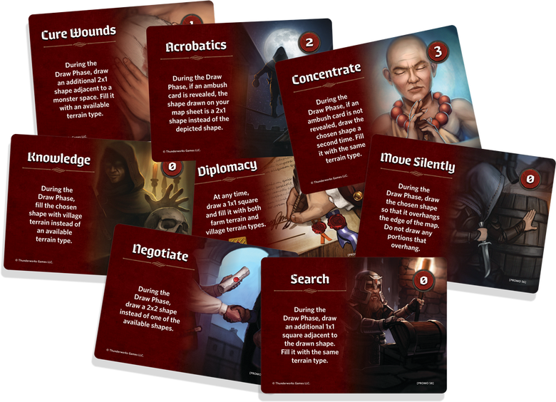 Image of Cartographers: Skills Mini-Expansion 1 (Included in order of Cartographers)