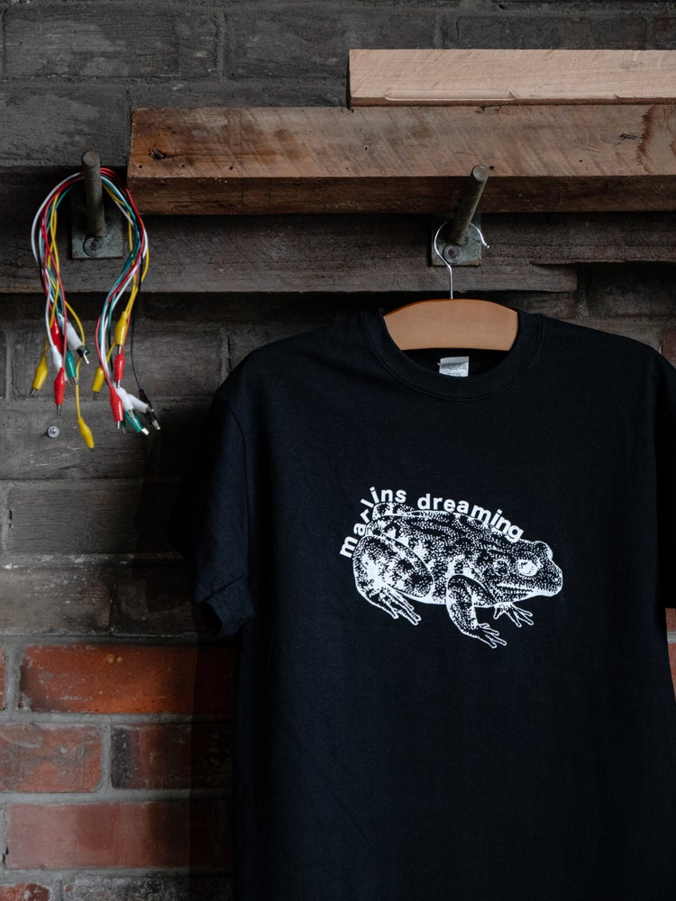 Image of TOAD TEE BLK