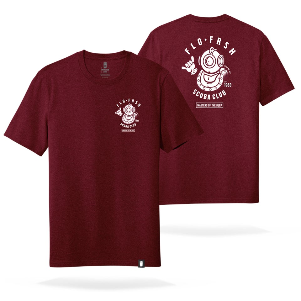 Image of Scuba Club 'Masters of the Deep' Tee