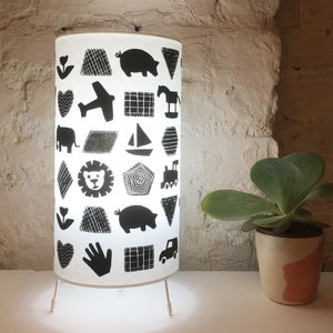 Image of Shapes and Things Children's Lamp