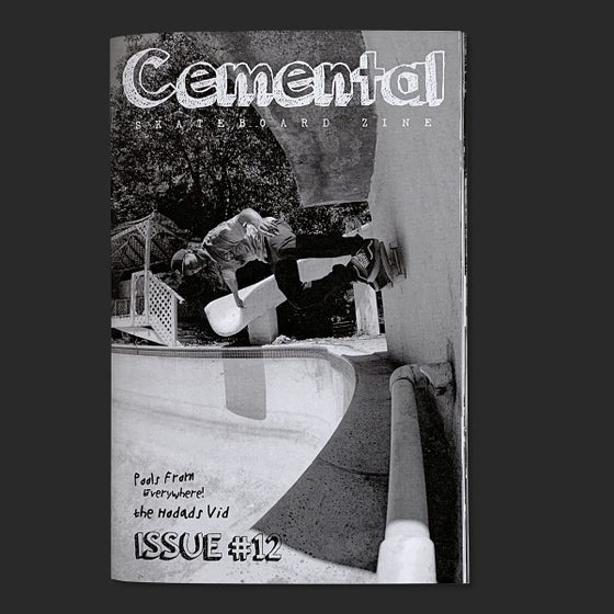 Image of Cemental Skateboard Zine #12