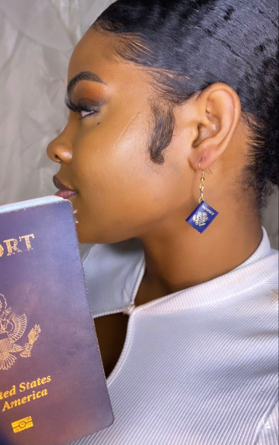 Image of The passport earring