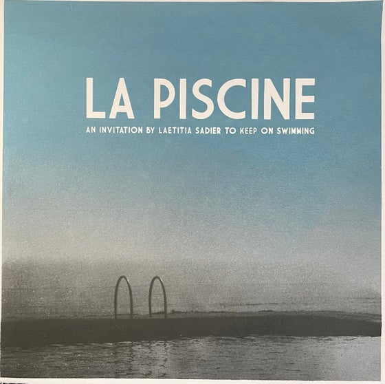 "Image of ""La Piscine"" Compilation w/Laetitia Sadier, Richard Swift, Superbravo Limited Edition 12"" EP"