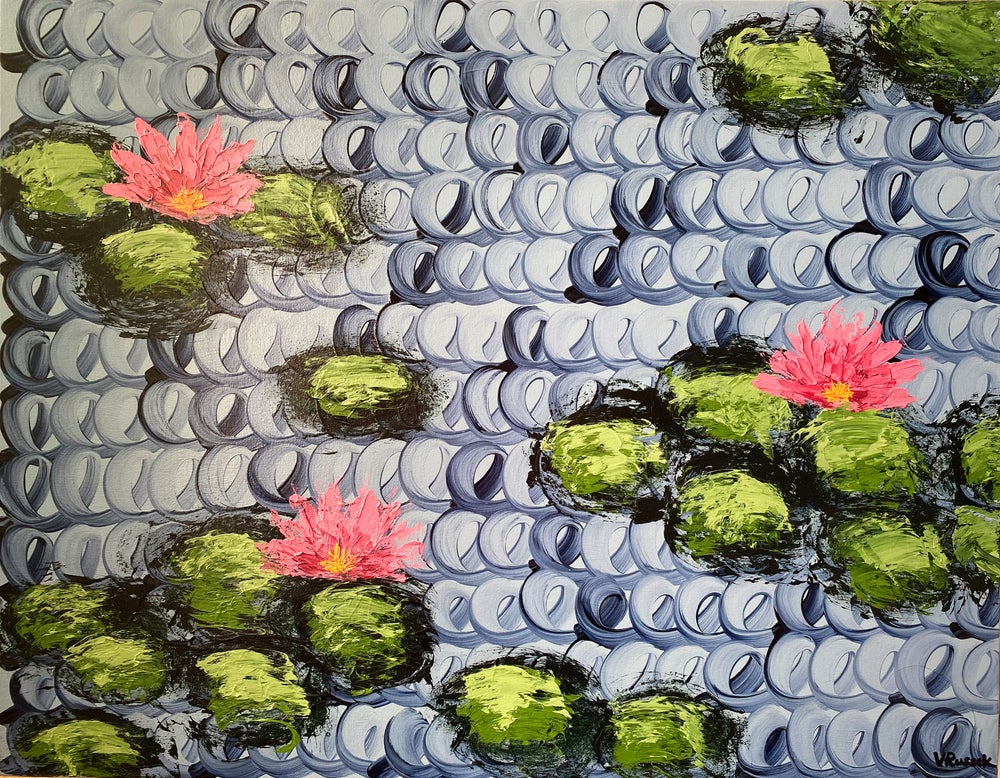 Image of WATERLILIES 6