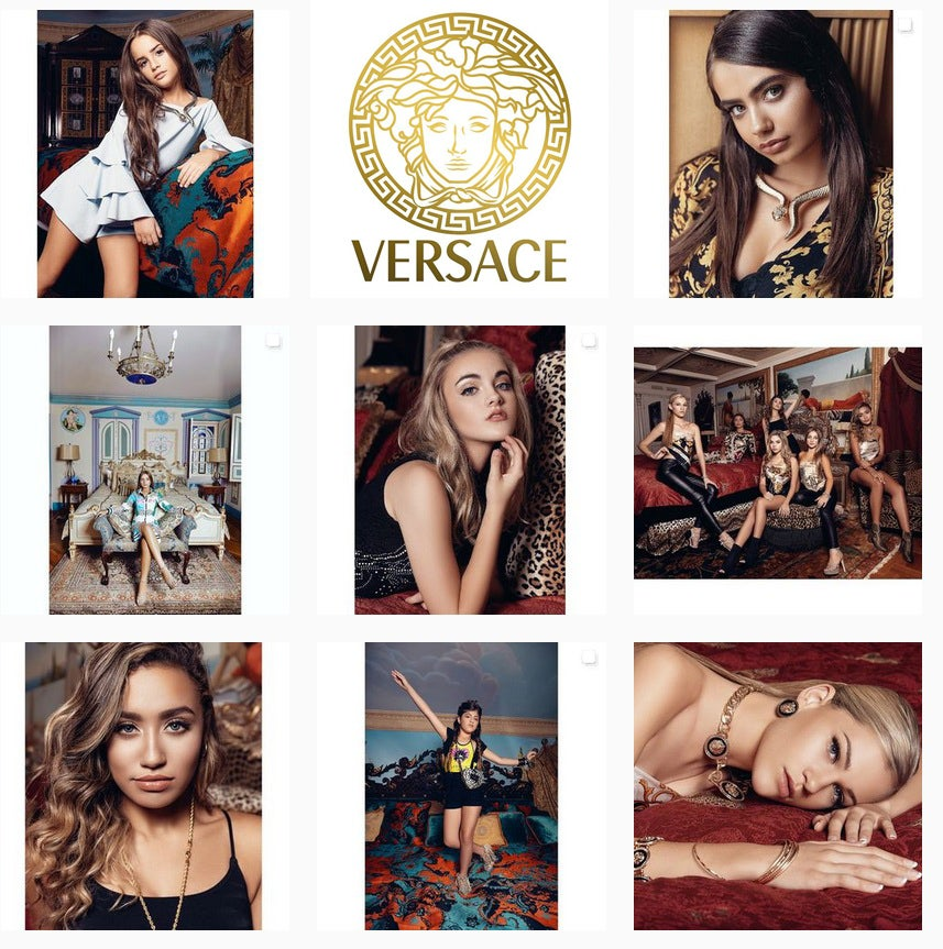 Image of deposit - Versace Mansion editorial - South Beach - Easter weekend + October 16-17