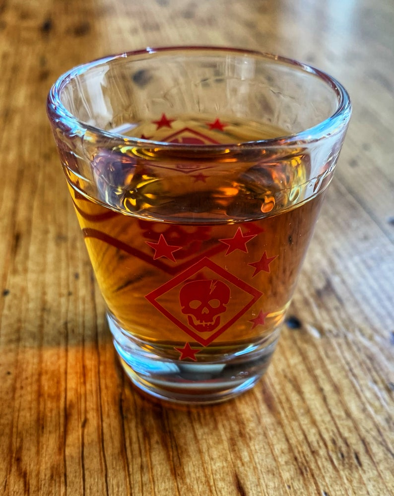 Image of Bolt Raider Shot Glass