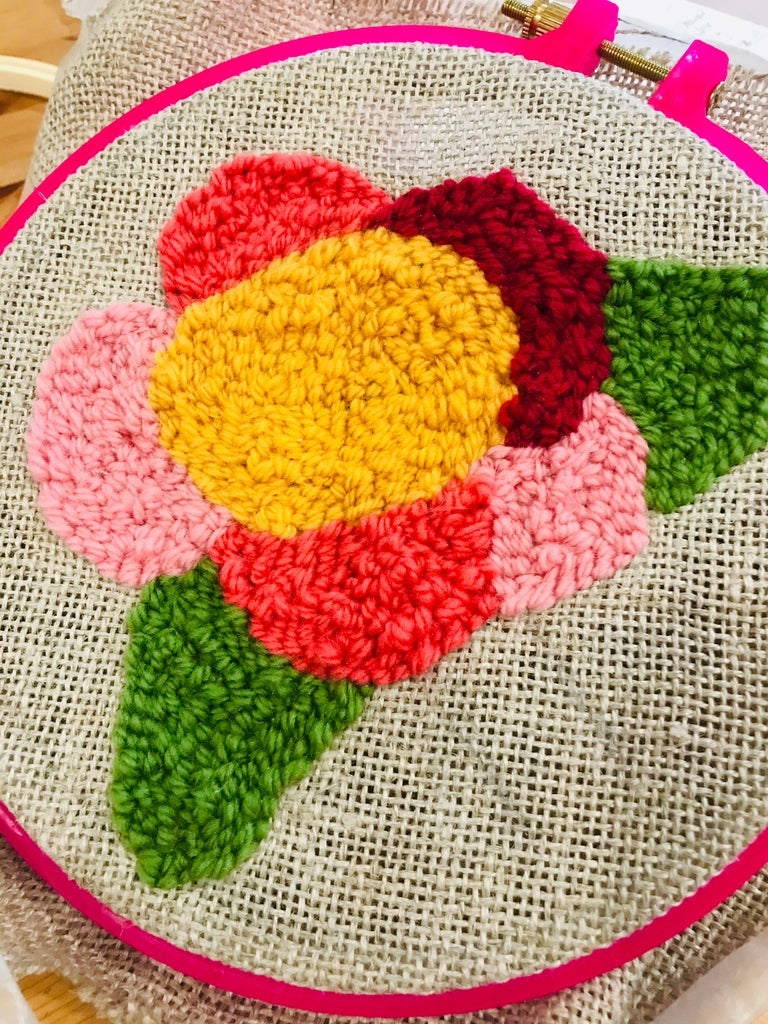 Punch Needle Workshop Sunday 21st February & Saturday 20th March 1:30-3:45