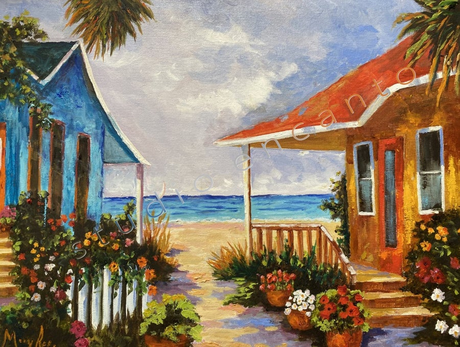 Image of Gulfside Cottages by Mary Rose Holmes