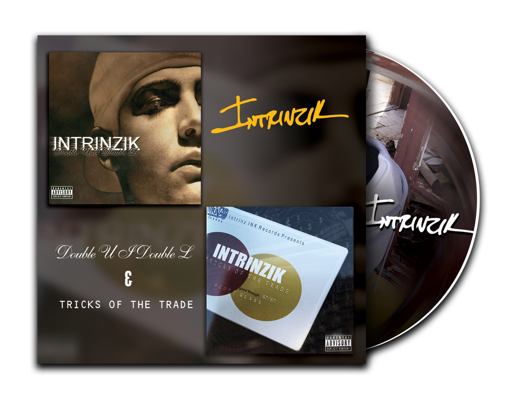 Image of Intrinzik - Double U I Double L & Tricks of the Trade Split LP [pre-order ships on 2/20]