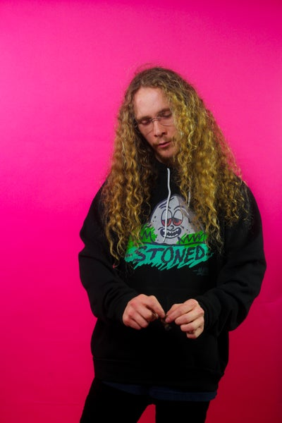 Image of Stoned Fleece Unisex hoodie