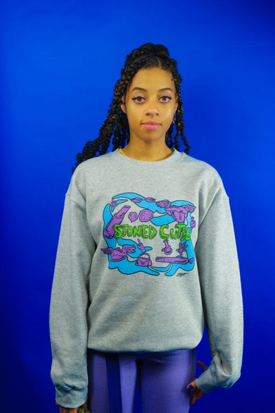 Image of Stoned Cutie Crew Neck Sweater