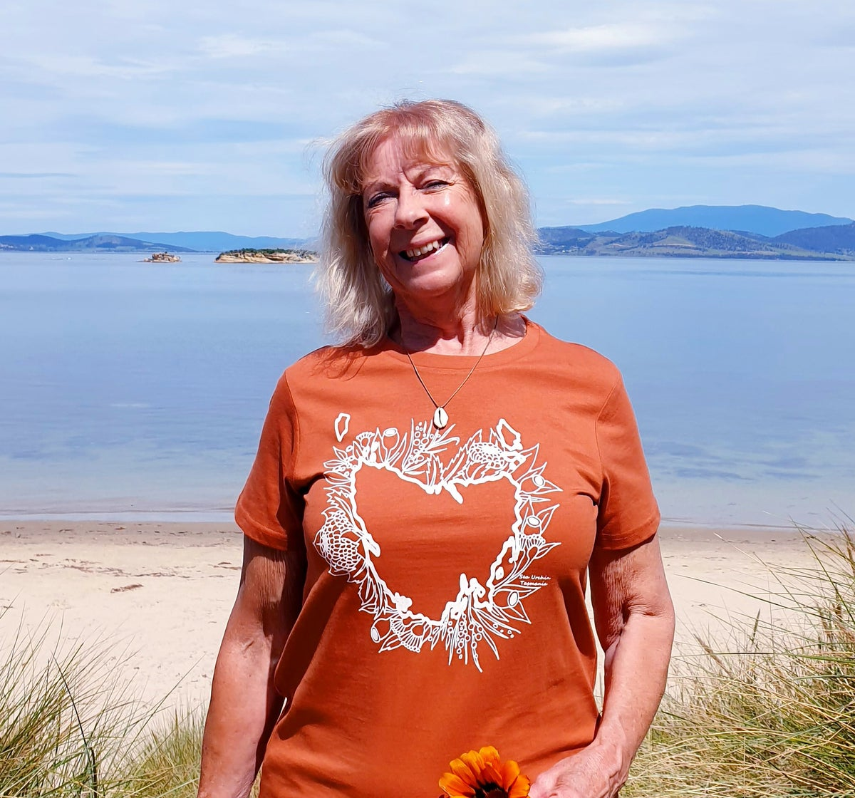 Totally Tasmania T Shirt in Copper