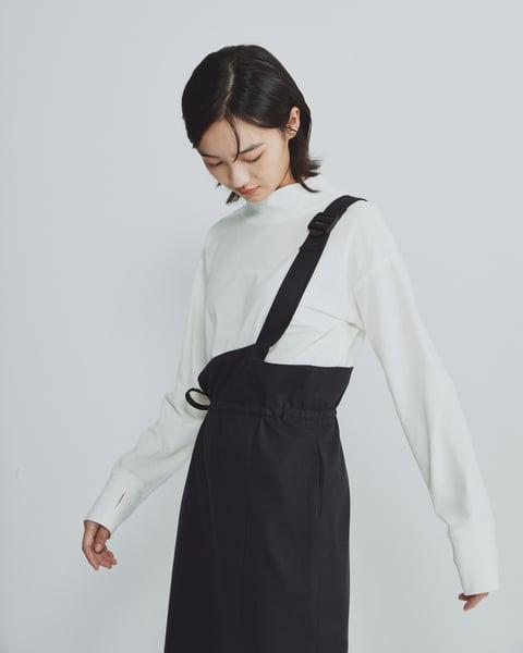 Image of TRAN - 單肩連身裙 (黑)