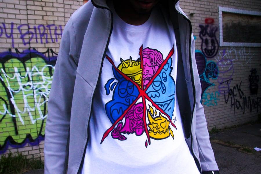 Image of Unisex Monster Combo  Comic T-Shirt