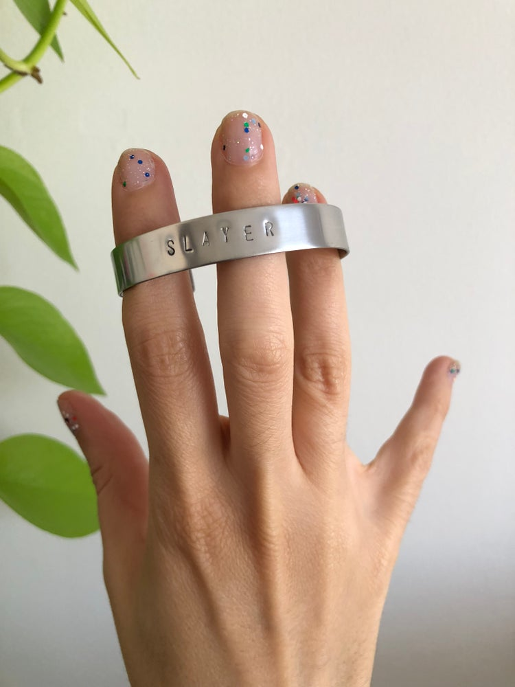 Image of THIN STAMPED CUFFS