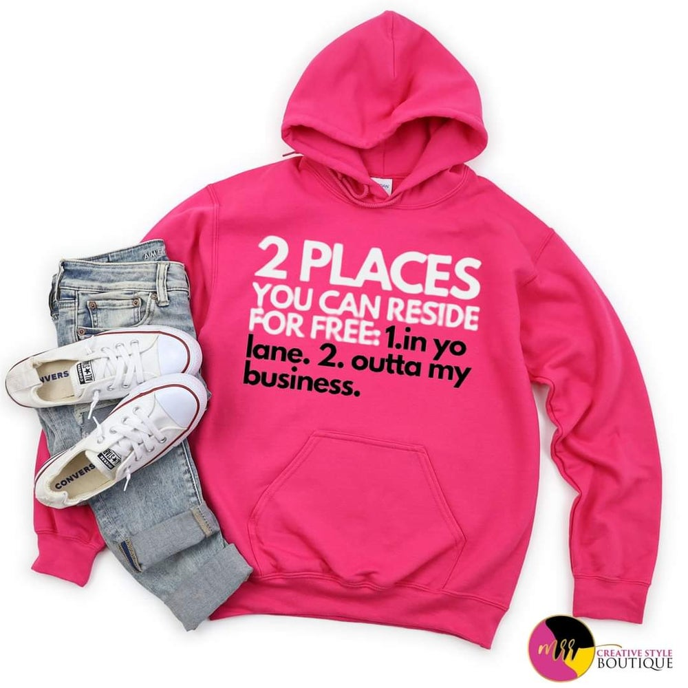 Image of 'Reside for Free' Hoodie Pullover (S-2X)