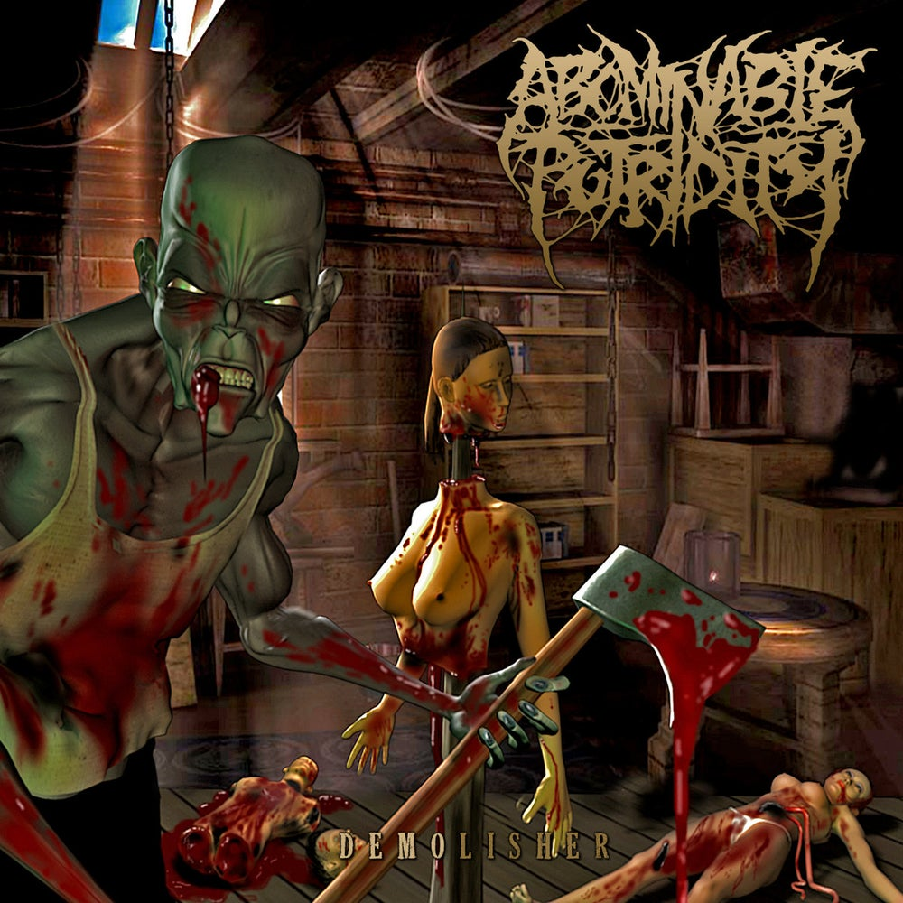 Image of ABOMINABLE PUTRIDITY  ‎– Demolisher CD