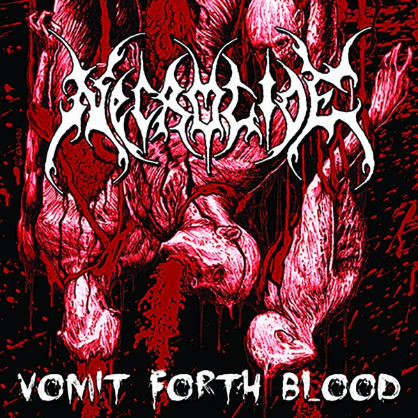 Image of NECROTIDE ‎– Vomit Forth Blood CD