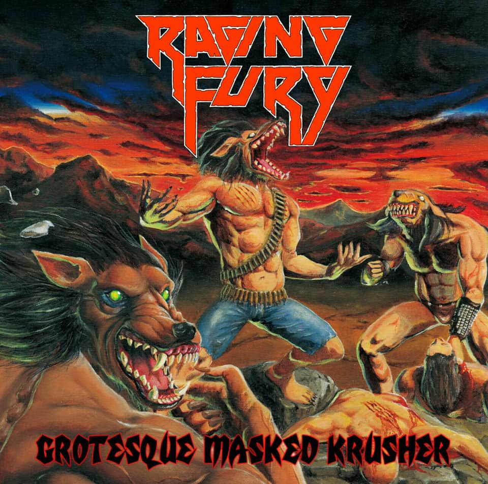 """Image of RAGING FURY   """"Grotesque Masked Krusher"""""""