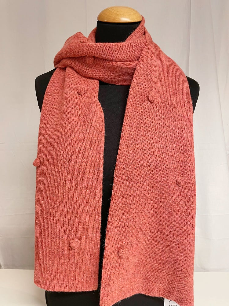 Image of Scarf Dots Salmon