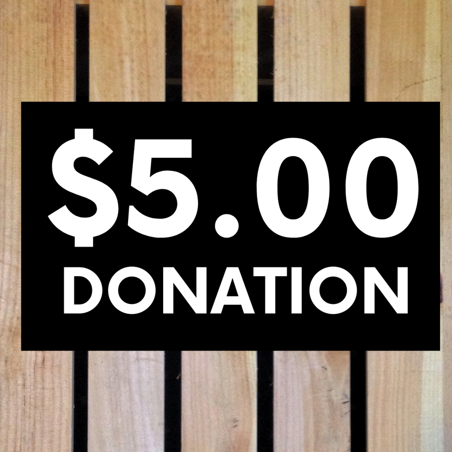 Image of $5 Donation
