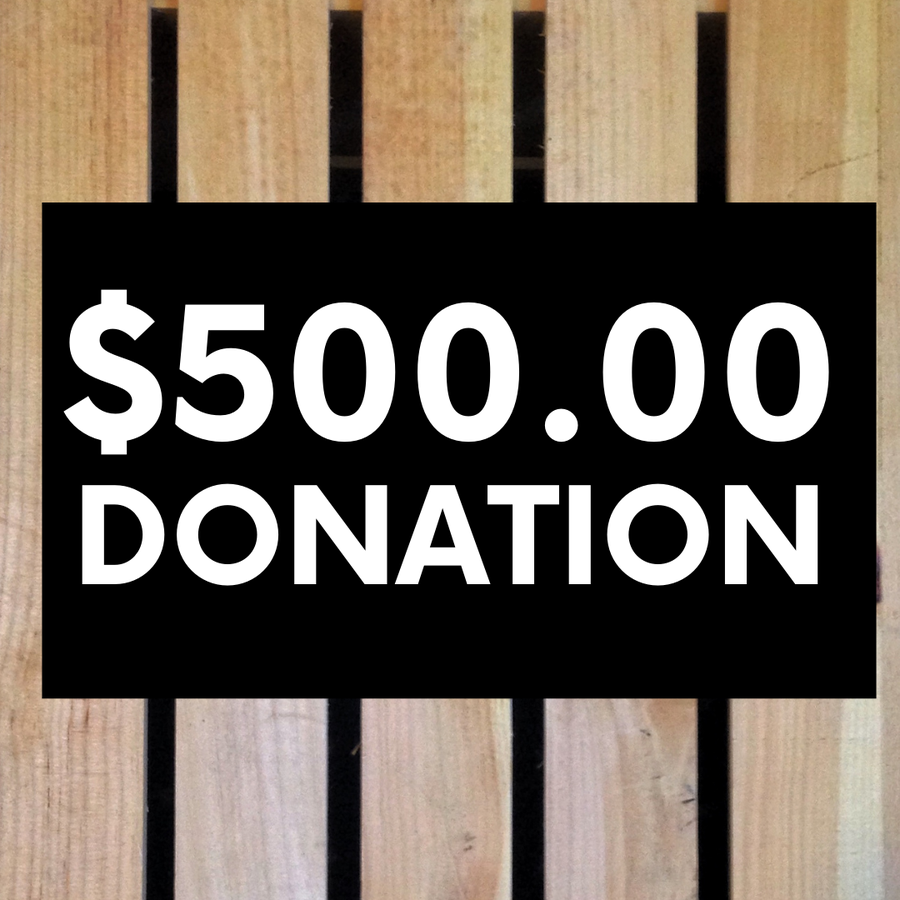 Image of $500 Donation