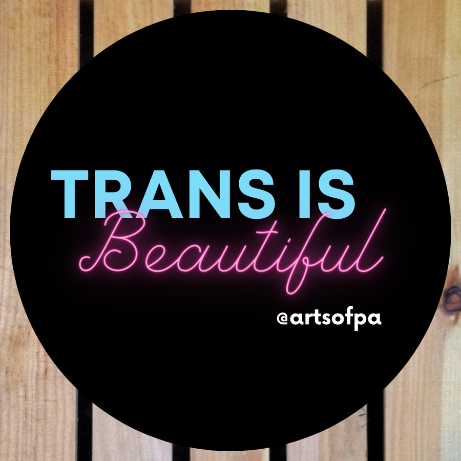 Image of Trans is Beautiful Sticker