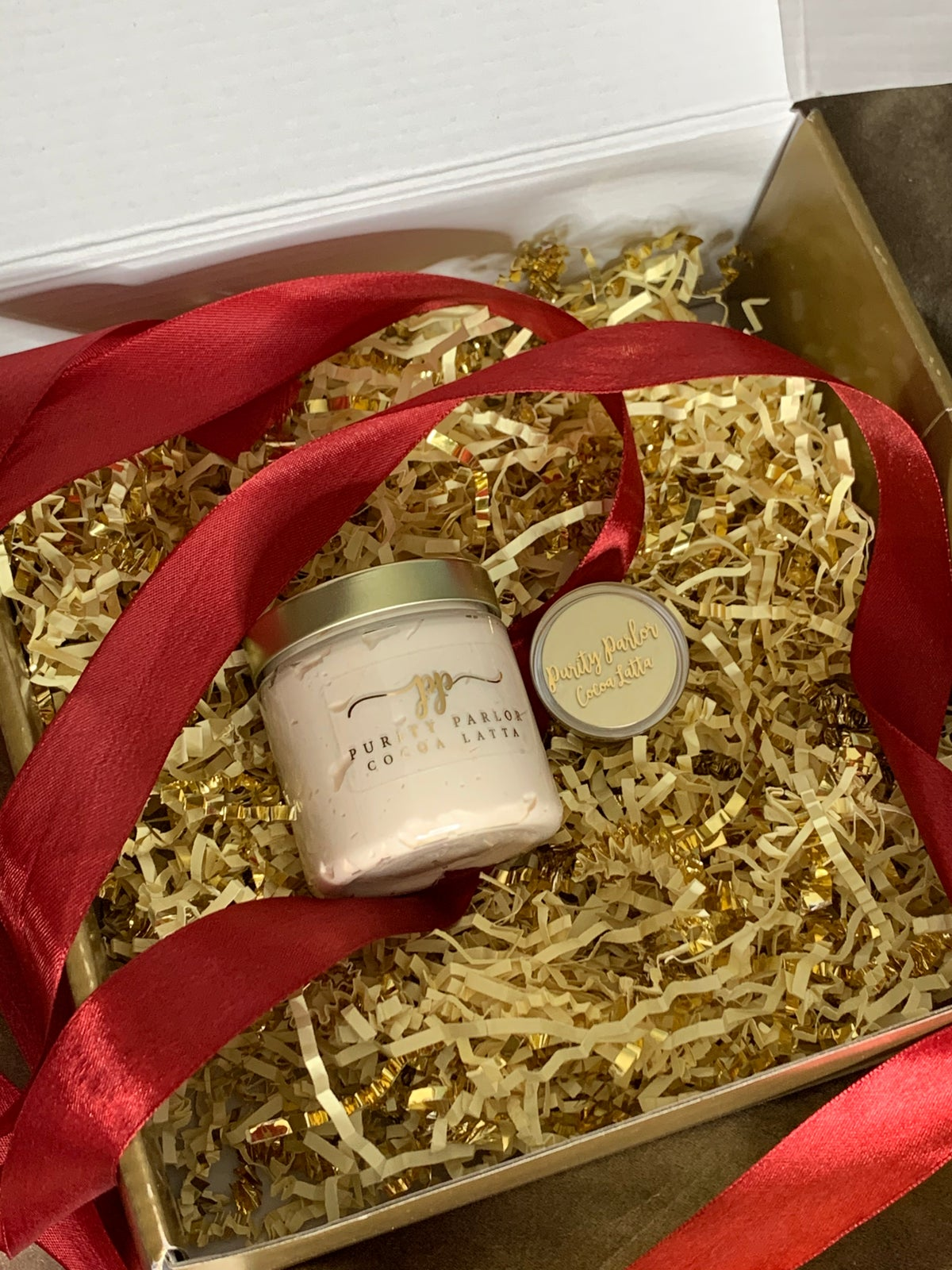 HER Gift Set in Cocoa Latta