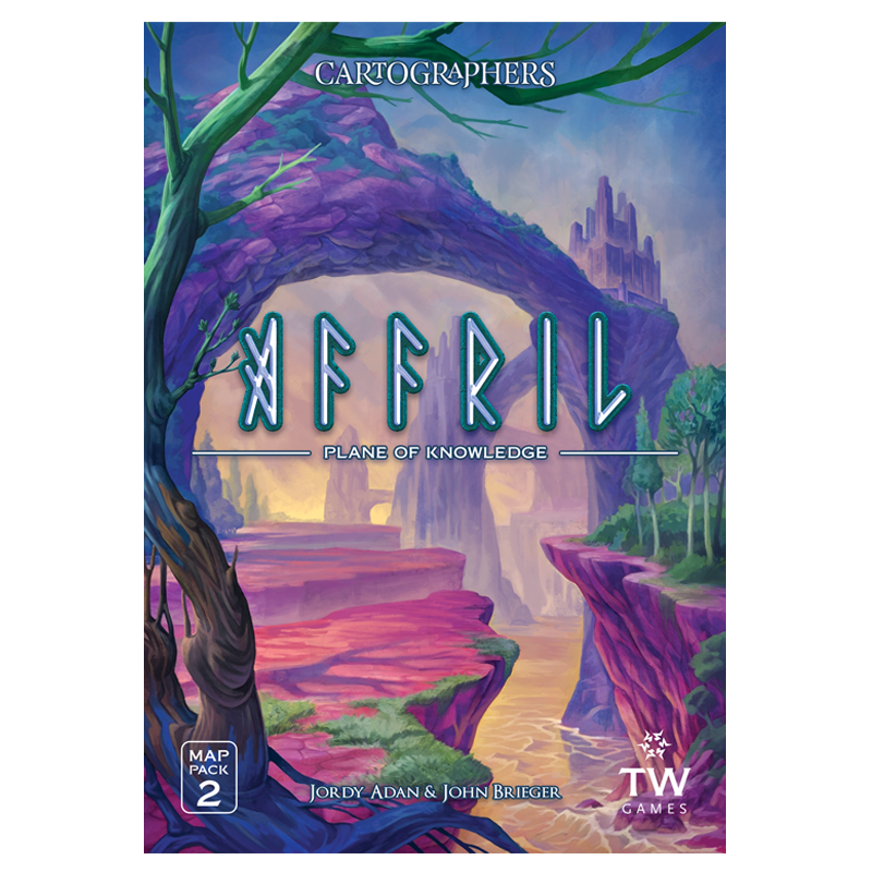 Image of Cartographers: Map Pack 2 - Affril  (Pre-Order)