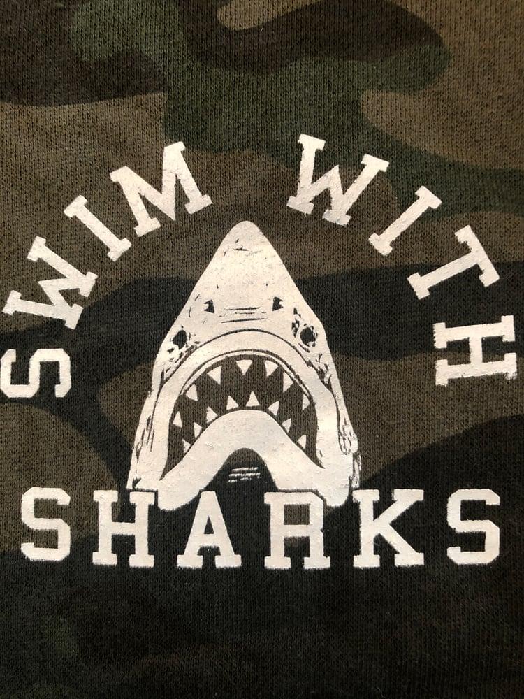 Image of Camo Shark Hoodie II